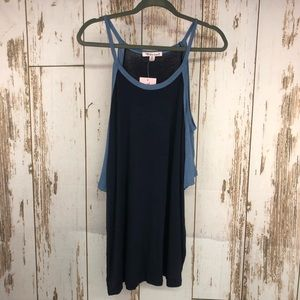 NWT Extra Touch, Cold Shoulder, Size 2X.  H72